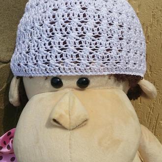 Ажурная панама-шапочка