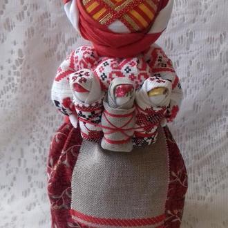 """Кукла-мотанка """"Берегиня"""" Рост 25-32 см. Подарок-оберег в дом."""