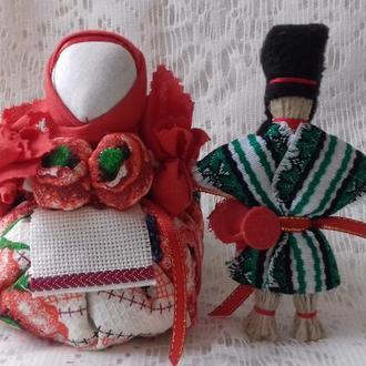 "Оберег-подарок для пары: ""Травница"" и  ""На удачу""   Handmade."