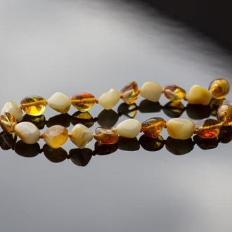 браслет из натурального Янтаря