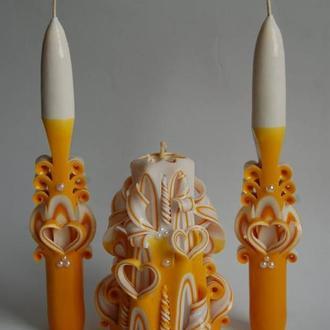 резные свечи
