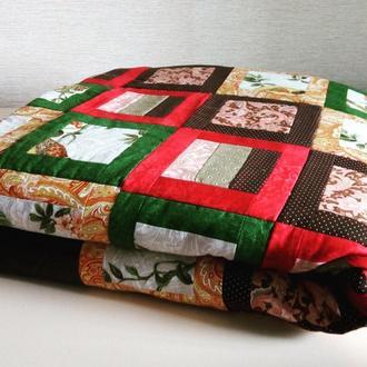 Одеяло-покрывало пэчворк