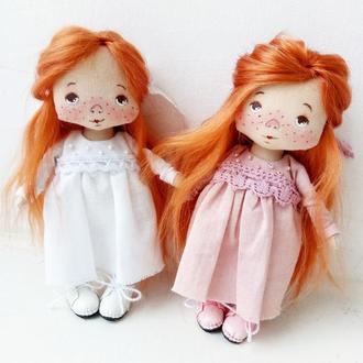 """Ангелочек - """"Зефирка"""".Текстильная куколка"""