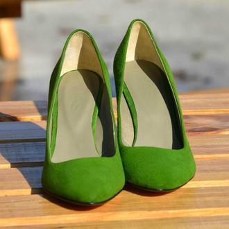 Jane Green - классические лодочки на устойчивом каблуке