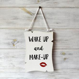Постер «Wake up & Make-up»