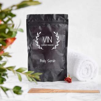 Натуральний кавовий скраб для тіла від VIN