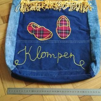 Ексклюзивна джинсова сумка