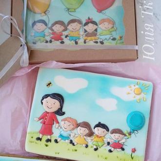 Пряничні листівки для діток, вчителів, вихователів