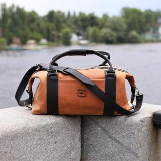 "Спортивная сумка ""Sport&Travel DS"" Caramel"