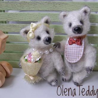 Cвадебные медведи Урсула и Даниэль