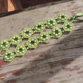 Браслет оливковый