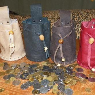 Гаманці з середньовічною тематикою, средневековий кошилек, мішечки, мешочек