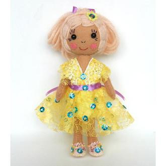 кукла Золушка из фетра