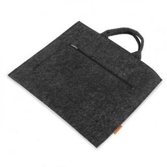 Повстяна сумка для планшета та іншої техніки (Сумка ВМ43)