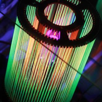 Светильник из ниток