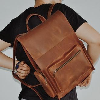 """Кожаный рюкзак """"Тиаго"""""""
