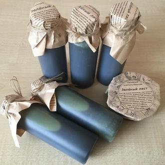 Эко шампунь-бальзам с нуля со спирулиной, крапивой и репейником