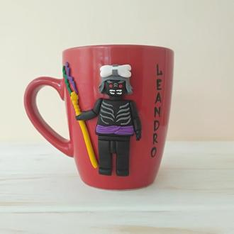 Lord Garmadon / NINJAGO Чашка, Lego подарок, Lego чашка, Lloyd, Wu, Kai, Nya, Zane, Cole, Jay,