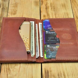 Портмоне-тревел для телефона, денег, документов, кредиток
