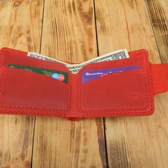 Кожаный бумажник картхолдер. Бумажник водителя
