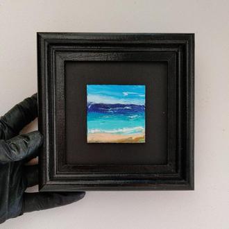 """Картина маслом """"Океан"""""""