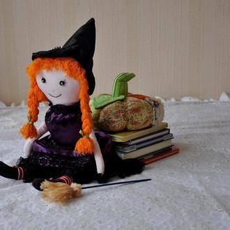 Кукла Ведьмочка, кукла на Хеллоуин