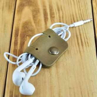 Держатель для проводов USB, наушников, зарядки