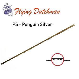 Пилочки для лобзика Flying Dutchman Penguin Silver, 130 mm.