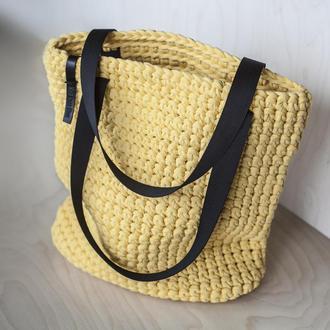 Торбочка из трикотажной пряжи в наличии
