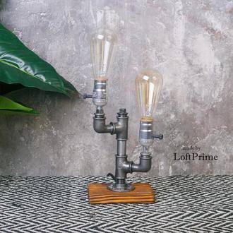 Лампа настольная лофт стимпанк Т-7.1