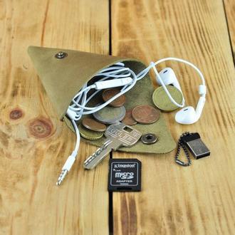 Монетница кошелек косметичка для наушников, флешек