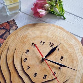 """Настенные часы """"Wooden circles"""""""