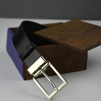 Мужской кожаный ремень, Кожаный ремень под заказ, Длинный мужской ремень, Черный кожаный ремень