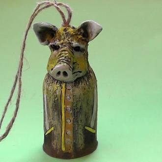 Колокольчик Свинья №2 стройная