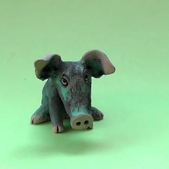 Статуэтка свинка №1