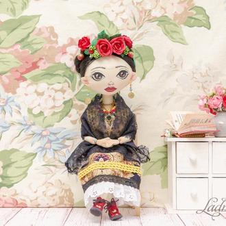 Интерьерная кукла Frida Khalo