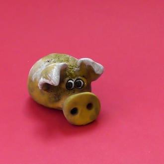 Статуэтка свинка №14