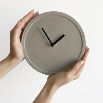 Бетонные часы CLOCK CLOCK
