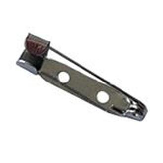 Застежка для броши 25 мм 5 шт.