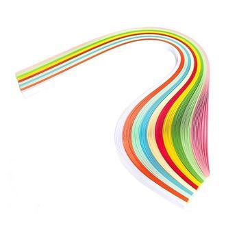 Набор бумаги для квиллинга 1,5 мм, Нежный букет 10 цветов, 160 г/м2, 100 шт.