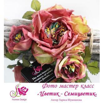 Фото мастер-класс «Цветик-Семицветик»