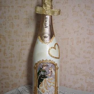 """Бутылка """"Свадебная"""""""