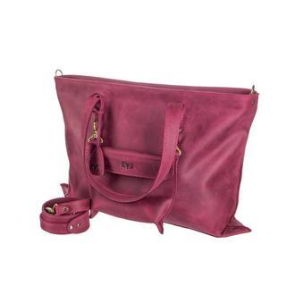 """Кожаная сумка """"Лиса"""""""