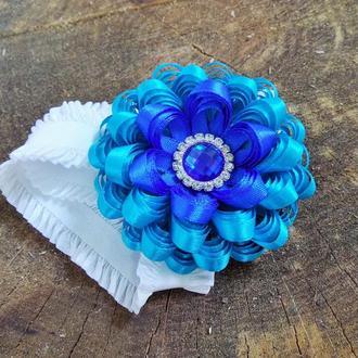 повязка Голубое сияние