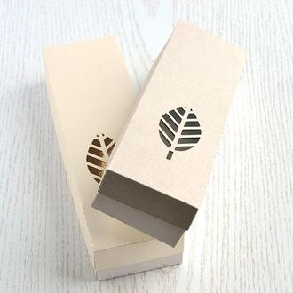 """Подарочная коробка с окошком, """"Пенал"""""""