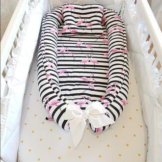 Кокон-гнездышко, позиционер, babynest, кокон для новорожденных