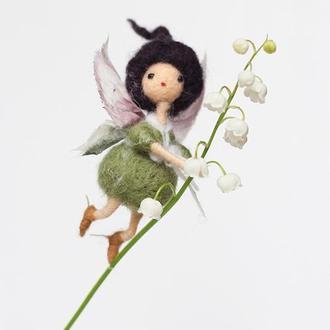 Фея Брюнетка - декор для комнатных растений и флорариумов