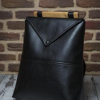 """Женский рюкзак """"Skins Black"""" черный"""