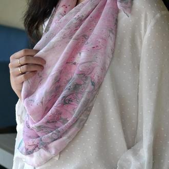 шелковый платок эбру
