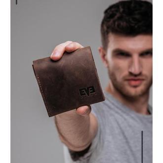 """Кожаный кошелек """"Средний"""""""